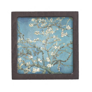 Almond branches in bloom, 1890, Vincent van Gogh Premium Jewelry Box