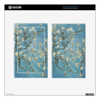 Almond branches in bloom, 1890, Vincent van Gogh Kindle Fire Decals
