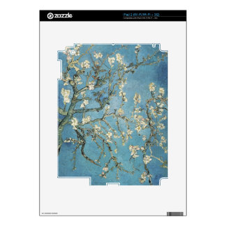 Almond branches in bloom, 1890, Vincent van Gogh iPad 2 Skin