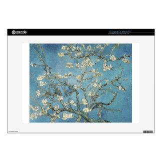 "Almond branches in bloom, 1890, Vincent van Gogh 15"" Laptop Skins"