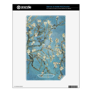 Almond branches in bloom, 1890, Vincent van Gogh Decals For NOOK Color