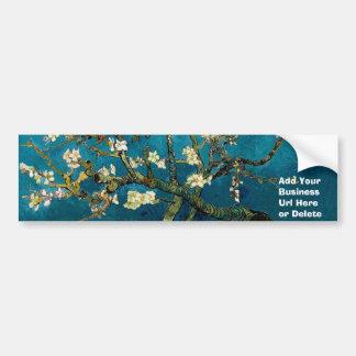 Almond Branches in Bloom Bumper Sticker