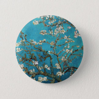 Almond Branches in Bloom, San Remy, c.1890 Button
