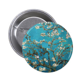 Almond Branches in Bloom, San Remy, c.1890 Pinback Buttons