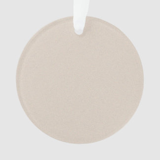 Almond Brown Star Dust Ornament