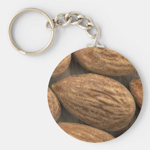 Almond Closeup Key Chain
