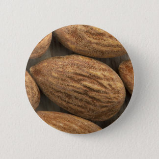 Almond Closeup Pinback Button