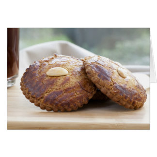 Almond Cookie Greeting Card