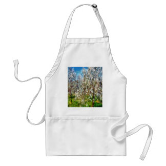 Almond Orchard Blossom Adult Apron