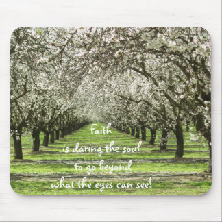 Almond Orchards Mousepad
