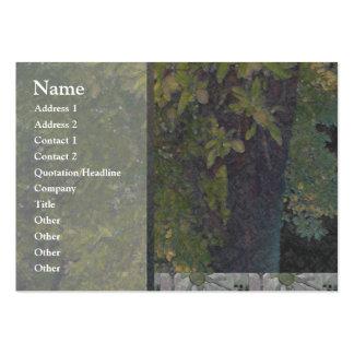 Almond Tree 1 Profile Card Large Business Card