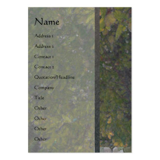 Almond Tree 1 Vertical Profile Card Large Business Card
