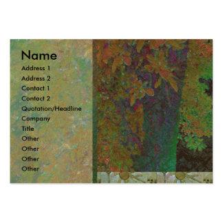 Almond Tree Glow Profile Card Large Business Card