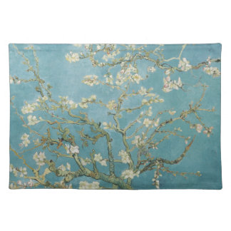 Almond tree in blossom by Vincent Van Gogh Cloth Placemat