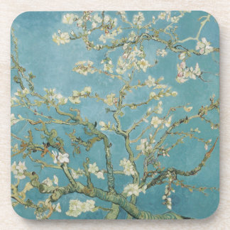 Almond tree in blossom by Vincent Van Gogh Coaster
