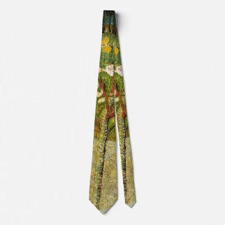 Almond Tree in Blossom, Van Gogh Fine Art Tie