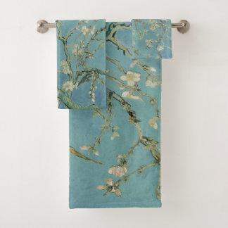 Almond tree in blossom Vincent Van Gogh Bath Towel Set