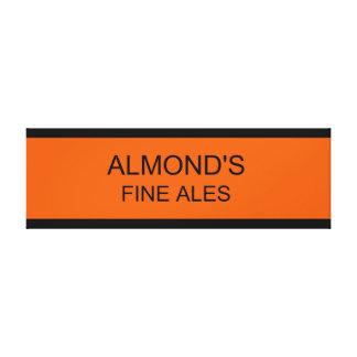 Almond's Fine Ales Canvas