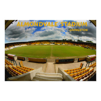 almondvale stadium livingston posters