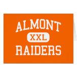Almont - Raiders - High School - Almont Michigan Greeting Card