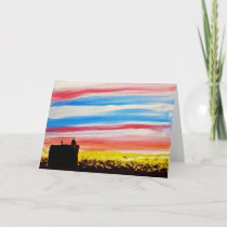 Almonte, Ontario Town Hall - Blank Greeting card