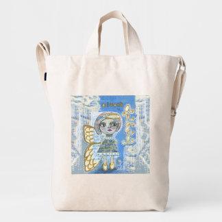 "Almost An Angel - ""Lisa"" Duck Canvas  BAGGU Bag"