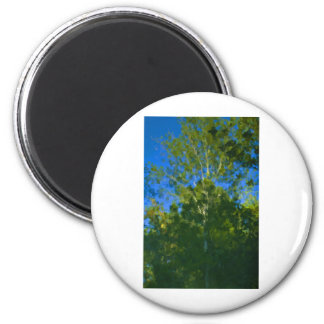Almost an Oil 2 Inch Round Magnet