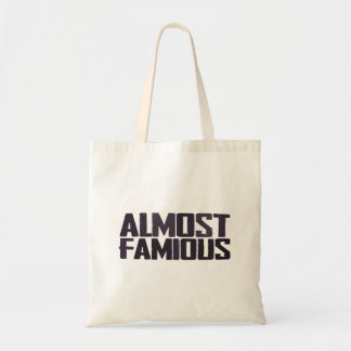 Almost famous - almost a celebrity canvas bags