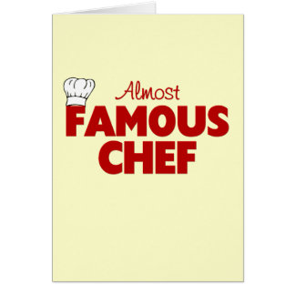 Almost Famous Chef Card