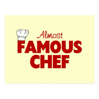 Almost Famous Chef Postcard