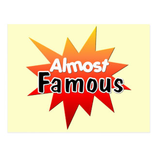 Almost Famous Postcard