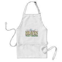 Almost Heaven West Virginia_2 Adult Apron