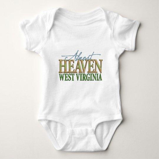 Almost Heaven West Virginia_2 Baby Bodysuit