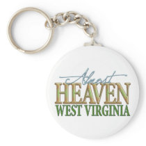 Almost Heaven West Virginia_2 Keychain