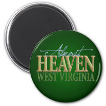 Almost Heaven West Virginia_2 Magnet