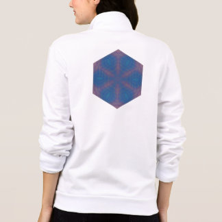 Almost Hexagonal Kaleidoscope Mandala Printed Jackets