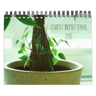 Almost inspirational calendar 2016
