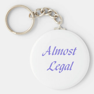 Almost Legal Keychains