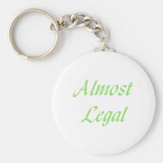 Almost Legal Key Chain