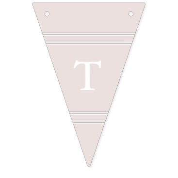 Beach Themed Almost Mauve - Spring 2018 London Fashion Trends Bunting Flags