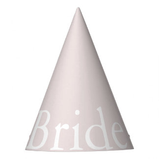 Almost Mauve - Spring 2018 London Fashion Trends Party Hat