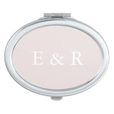 Beach Themed Almost Mauve - Spring 2018 London Fashion Trends Vanity Mirror