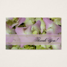 Almost Pink Hydrangea Flowers Wedding Favor Tags at Zazzle