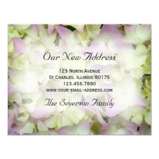 Almost Pink Hydrangea New Address Announcement