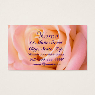 Almost Pink Profile Card