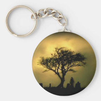 Almost Sunset Keychain