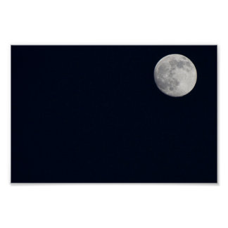 Almost-Super Moon Posters