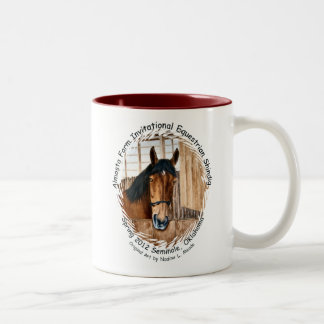 Almosta Farm Ride spring 2012 Two-Tone Coffee Mug