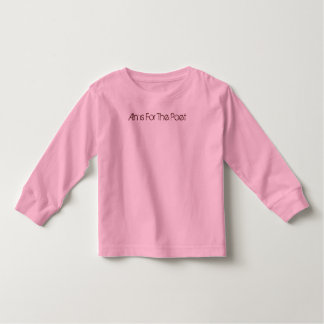 Alms For The Poet  child tee