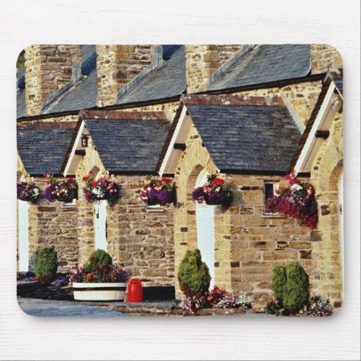 Alms Houses at Par  flowers Mousepad
